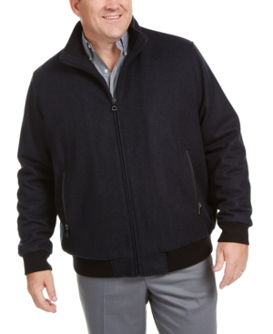Calvin Klein Men's Big & Tall Bomber Jacket