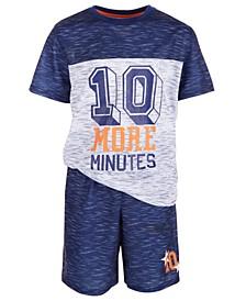 Big Boys 2-Pc. Awesome Pajama Set