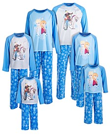 Family Frozen Pajama Sets