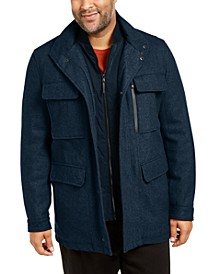 Men's Big & Tall Mayfield Field Coat, Created For Macy's