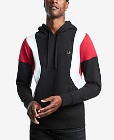 Men's Color Blocked Pullover Hoodie