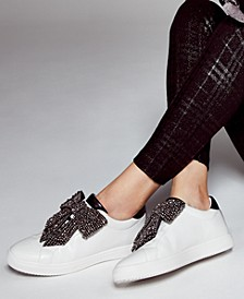 INC Beline Bow Sneakers, Created for Macy's