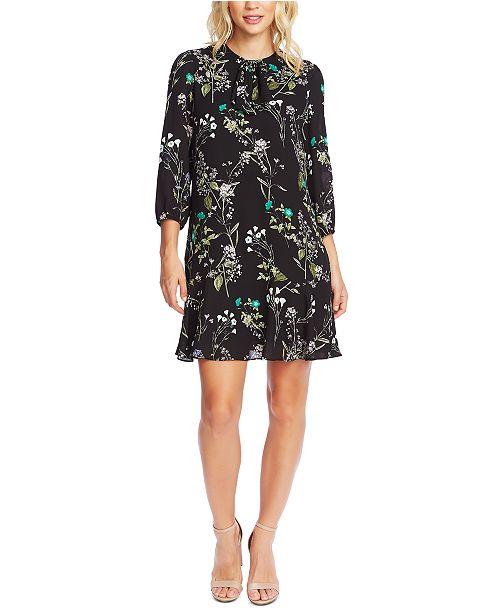 CeCe Floral-Print Dress