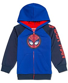 Little Boys Spider-Man Colorblocked Fleece Hoodie