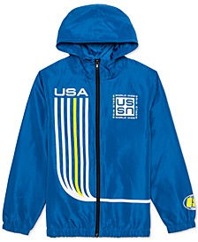 Big Boys Athletic Hooded Jacket