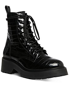 Women's Tornado Lace-Up Combat Boots
