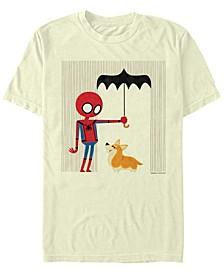 Men's Spider-Man Far From Home Umbrella for Corgi, Short Sleeve T-shirt