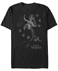 Men's Little Mermaid Ariel Sebastian Under the Sea, Short Sleeve T-Shirt