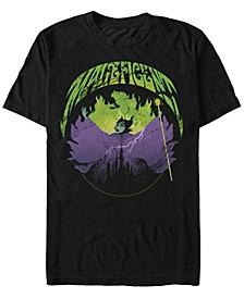 Men's Sleeping Beauty Maleficent Flames, Short Sleeve T-Shirt