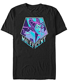 Men's Sleeping Beauty Maleficent Pop Art, Short Sleeve T-Shirt