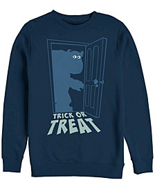Pixar Men's Monsters Inc. Sulley Trick or Treat, Crewneck Fleece