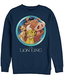 Men's Lion King Best Friends, Crewneck Fleece