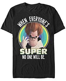 Pixar Men's Incredibles Super Syndrome, Short Sleeve T-Shirt