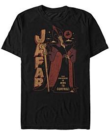 Men's Aladdin Jafar Controls the Universe, Short Sleeve T-Shirt