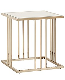 Maddison 2-Piece Occasional Table Set with Mirrored Top