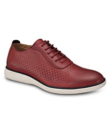 Men's Perforated Oxford Shoes