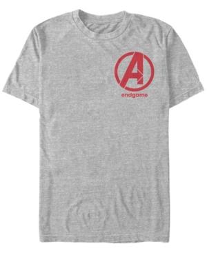 Fifth Sun Marvel Men's Avengers Endgame Left Chest Logo Short Sleeve T-Shirt