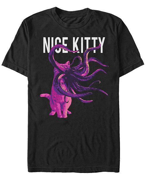 Marvel Men's Captain Marvel Goose the Nice Kitty, Short Sleeve T-shirt