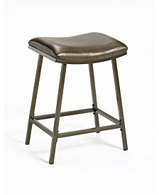 Saddle Counter Height Stool