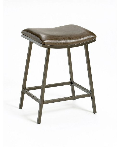 Admirable Saddle Counter Height Stool Pabps2019 Chair Design Images Pabps2019Com