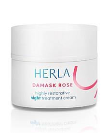Damask Rose Highly Restorative Night Treatment Cream