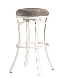 Furniture Kelford Swivel Backless Counter Height Stool
