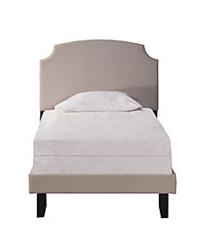 Hillsdale Lawler Twin Bed Set with Rails