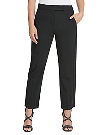 Straight-Fit Dress Pants