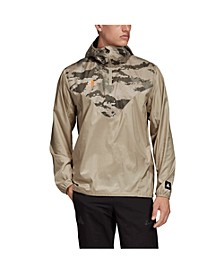 Men's Tango Camo Half Zip Soccer Pullover