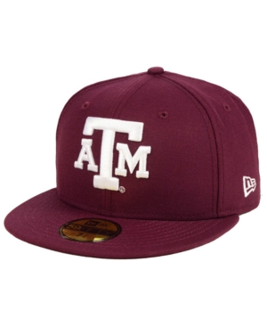 New Era TEXAS A & M AGGIES AC 59FIFTY-FITTED CAP