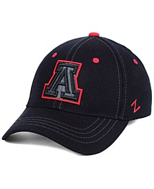 Arizona Wildcats Black Element Stretch Fitted Cap