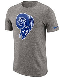 Men's Los Angeles Rams Marled Historic Logo T-Shirt