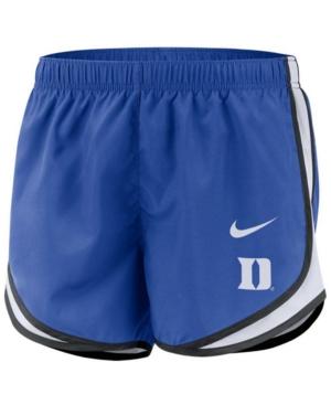 Nike Women's Duke Blue Devils Tempo Shorts