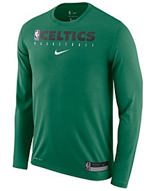 Men's Boston Celtics Team Practice Long Sleeve T-Shirt