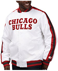 Men's Chicago Bulls The D-Line Starter Satin Jacket