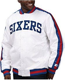 Men's Philadelphia 76ers The D-Line Starter Satin Jacket