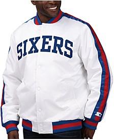 Men's Philadelphia 76ers The D-Line Starter Satin Jacket