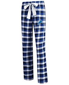 Women's Detroit Lions Piedmont Flannel Pajama Pants