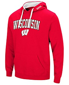 Men's Wisconsin Badgers Arch Logo Hoodie