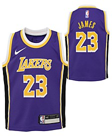 Toddlers LeBron James Los Angeles Lakers Statement Swingman Jersey