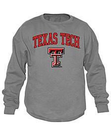 Men's Texas Tech Red Raiders Midsize Crew Neck Sweatshirt
