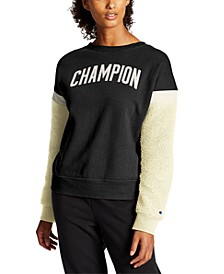 Women's Heritage Fleece Colorblocked Sweatshirt