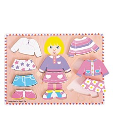 Big Dressing Girl Puzzle