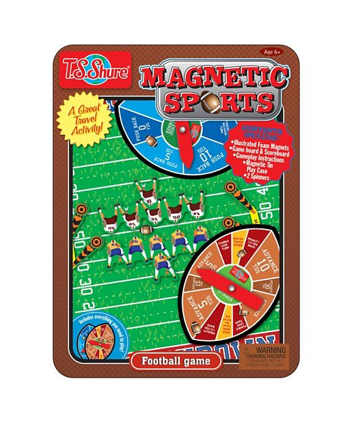 T.S. Shure Football Magnetic Sports Game Tin