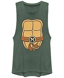 Teenage Mutant Ninja Turtles Women's Michelangelo Body Festival Muscle Tank Top