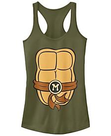 Teenage Mutant Ninja Turtles Women's Michelangelo Body Racerback Tank Top