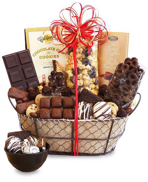 Hickory Farms Chocolate Dreams Basket