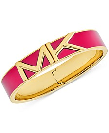 Colorful Logo Bangle Bracelet