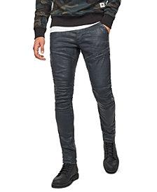 G-Star RAW Men's Rackam 3D Skinny Moto Jeans, Created For Macy's