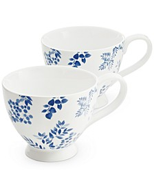 English Garden Teacups, Set of 2, Created for Macy's